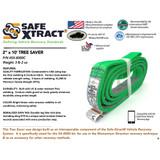 "SX-8000C 2"" x 10' Tree Saver (31,000 lb MTS)"