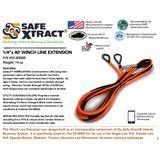 "SX-8000B Winch Line Extension (1/4"" x 40') (8,000 lb MTS)"