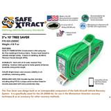 "SX-20000C 3"" x 10' Tree Saver (46,500 lb MTS)"