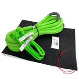 """1"""" Ultimate Kinetic Recovery Rope w two 7/16"""" Soft Shackles"""