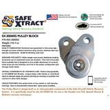 SX-30000G Pulley Block (30,000 lb WLL)