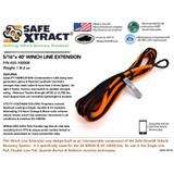 "SX-10000B Winch Line Extension (5/16"" x 40') (11,700 lb MTS)"