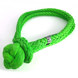 "ASR 1"" Flex Soft Shackle in Safety Green."