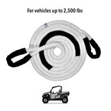 """1/2"""" Kinetic Recovery Rope (7,400 lb MTS, 2,500 lb WLL)"""