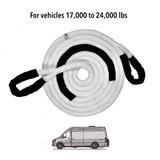 """1-1/4"""" Kinetic Recovery Rope (52,300 lb MTS, 17,434 lb WLL)"""