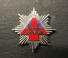 GD 267 BRITISH AEROSPACE FIRE -SECURITY CAP BADGE