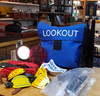 VT 2858. B.R. LOOKOUT MANS COMPLETE OUTFIT WITH BAG.