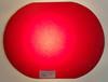 """VT 3222. EX STORES """"GLASS"""" RED LENS FOR UPPER QUADRANT SIGNAL"""