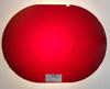 """VT 3226. EX STORES """"GLASS"""" RED LENS FOR UPPER QUADRANT SIGNAL"""