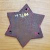 VT 3184. CAST IRON TANKER WAGON STAR PLATE LN.E.R. DATED 1931