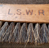 VT 2377. LONDON & SOUTH WESTERN RAILWAY LOCKING FITTERS  LEVER FRAME BRUSH
