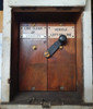 """VT 3534.  """"VEHICLE ON LINE"""" CABINET AND SWITCH EX NEWTON ABBOT STATION."""