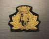 PORT OF LONDON AUTHORITY MARINE OFFICER CAP BADGE GD 981