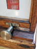 VT 4102. G.W.R. TYPE WOOD CASED LAMP REPEATER WITH IVORINE PLATE.