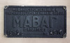 VT 4141. ALLOY HUNGARIAN MAVAG PLATE NO 4616 OF 1955 FROM 0-10-0  E.R. CLASS LOCOMOTIVE