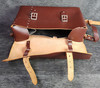 VT 2717. UN-USED EX B.R. STORES LEATHER GUARDS BAG.