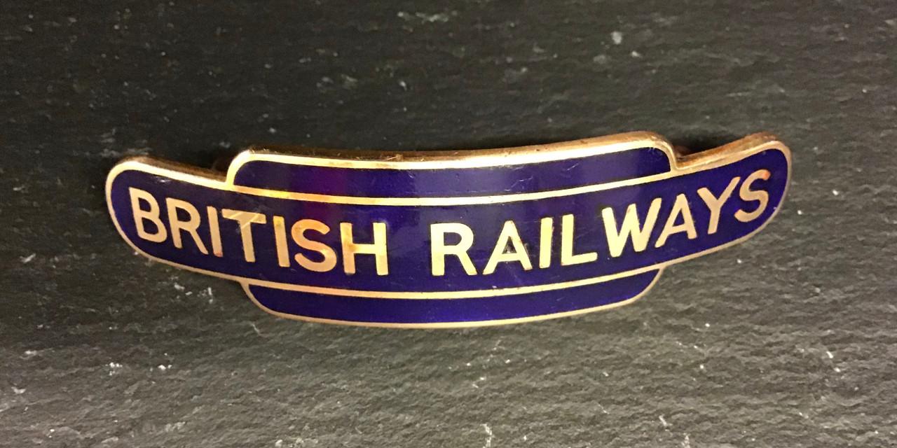 GD 926 BRITISH RAILWAYS EASTERN REGION TOTEM CAP BADGE