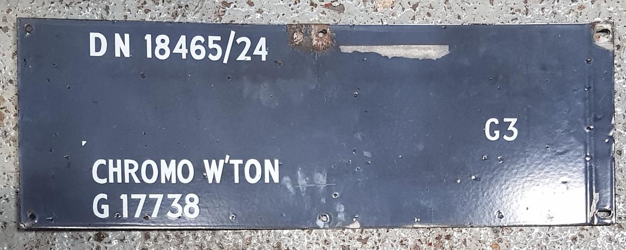VT 0767.  LONDON TRANSPORT NORTHERN LINE ENAMEL.
