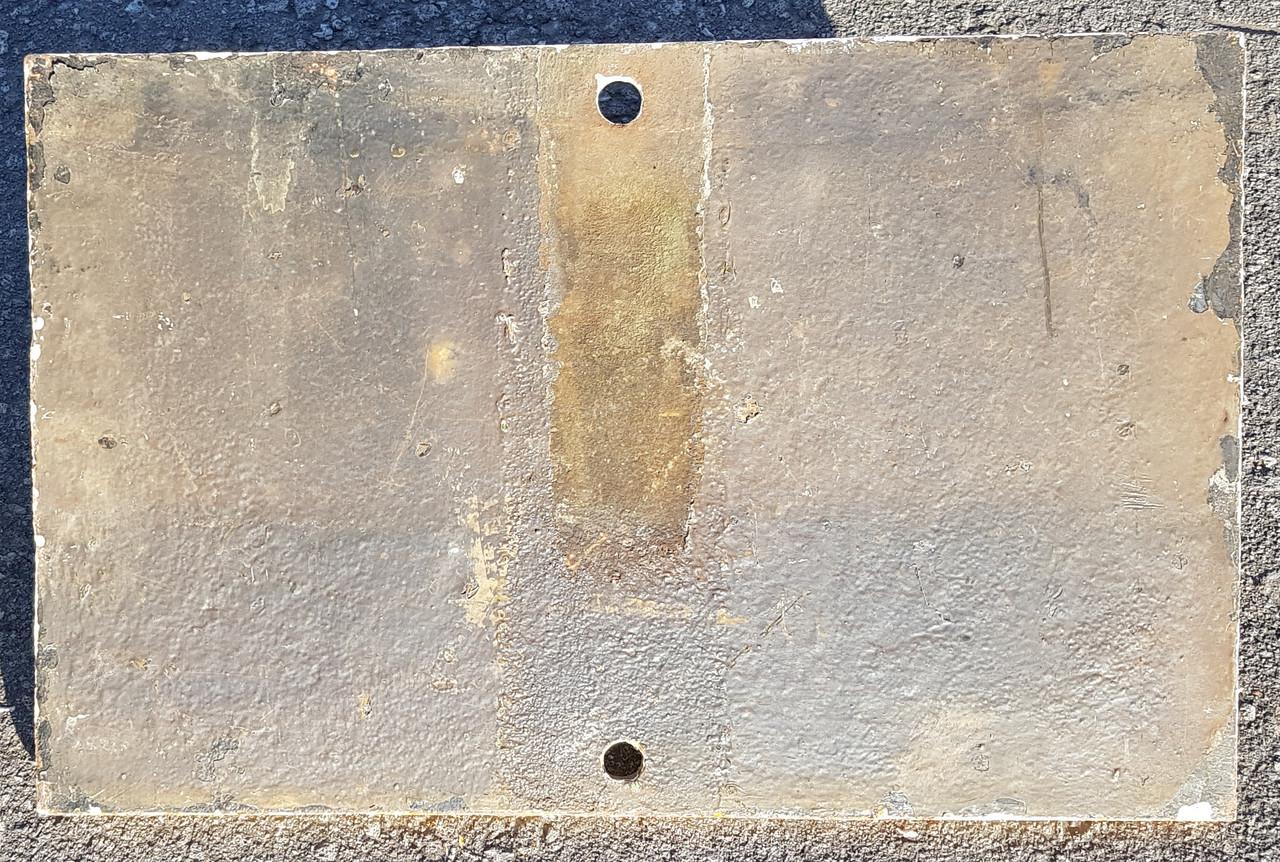 VT 3154. CAST IRON SOUTHERN RAILWAY TRESPASS NOTICE