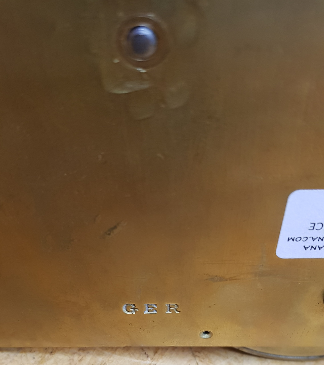 VT 0131.  GREAT EASTERN RAILWAY FUSEE CLOCK MOVEMENT.