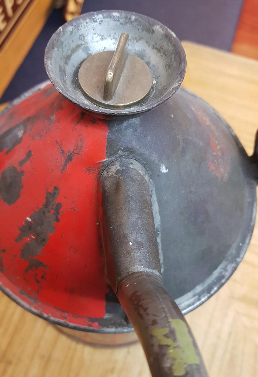 VT 0880A. 1 GALLON BRAIMER LAMP OIL POURER CONTAINER.