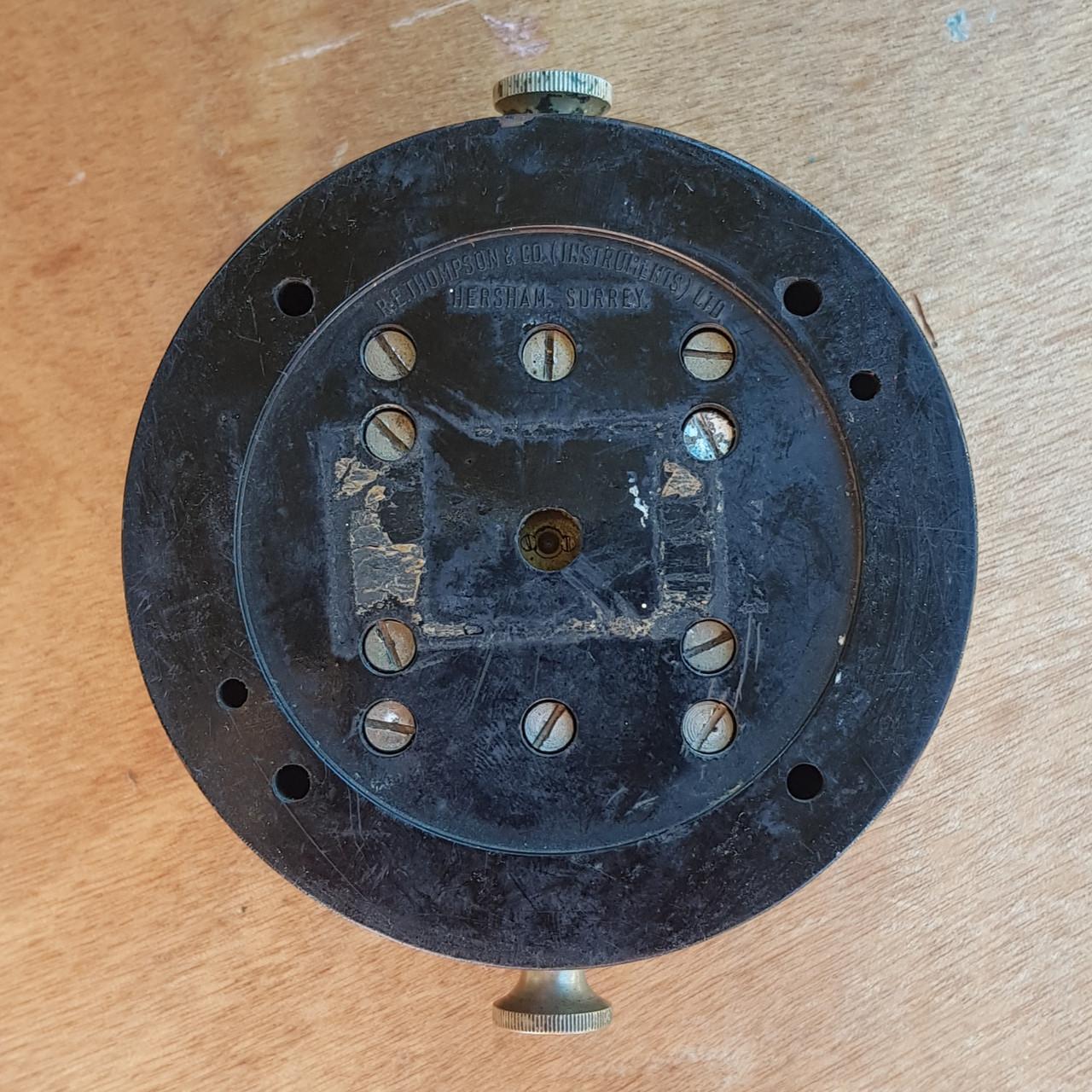 VT 4114. BR WR  BAKELITE TRACK CIRCUIT INDICATOR BY R.E.THOMPSON.