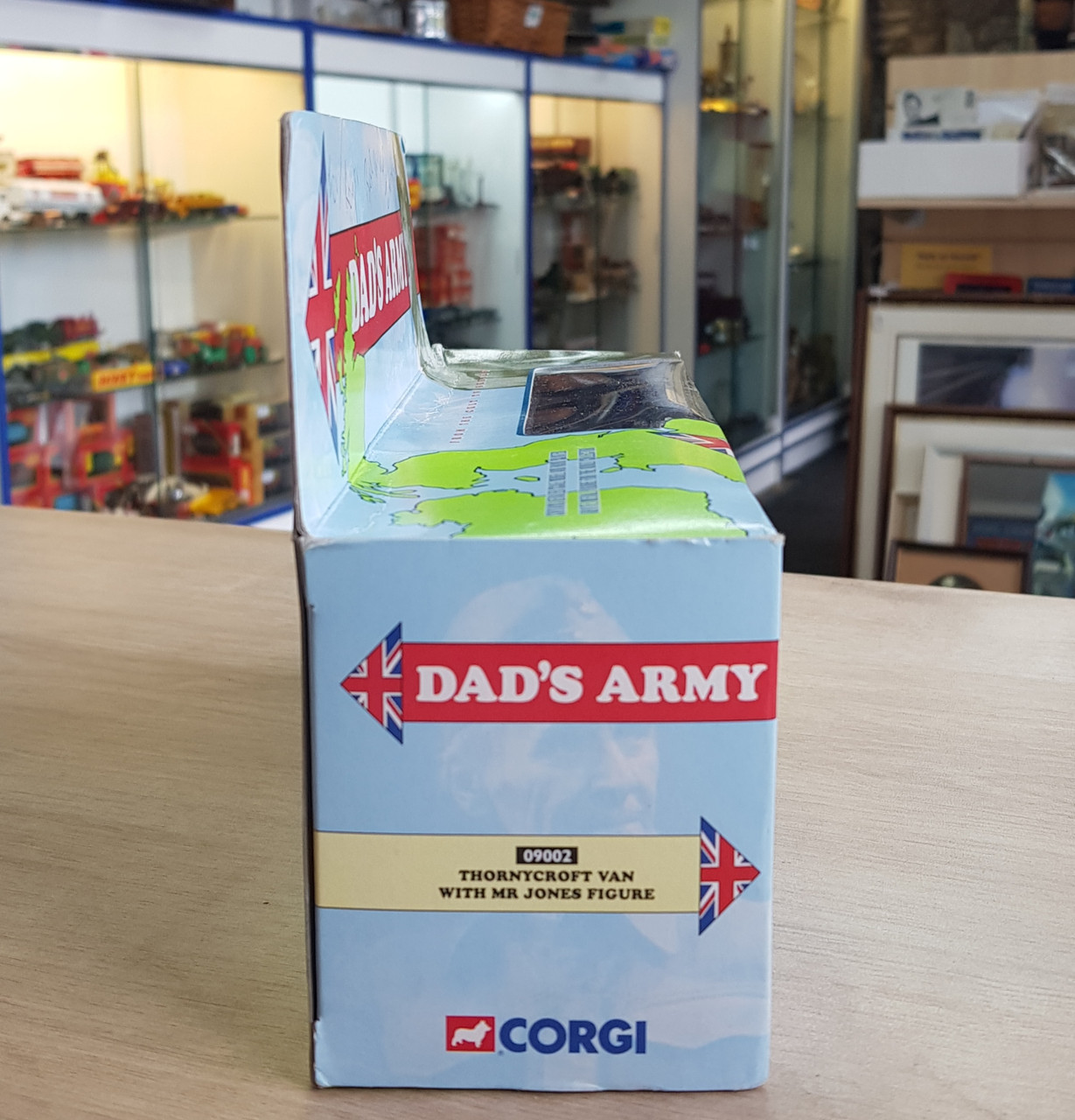 """VT 4564. CORGI AUTOGRAPHED BY JIMMY PERRY """"DADS ARMY SET"""""""