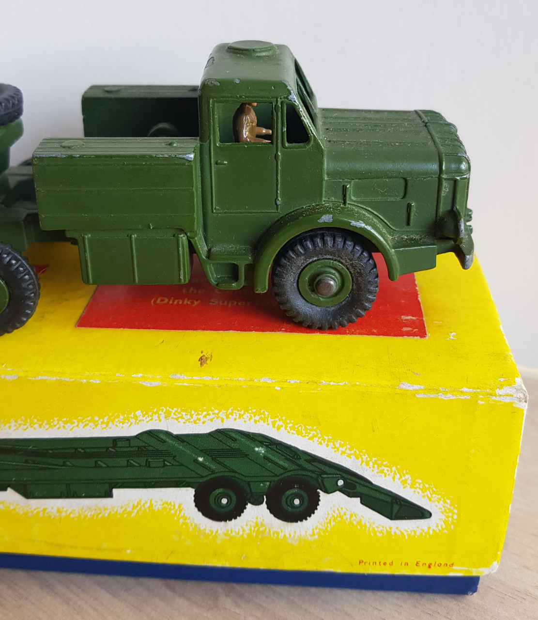 VT 4565. BOXED DINKY  660 ANTAR TANK TRANSPORTER.