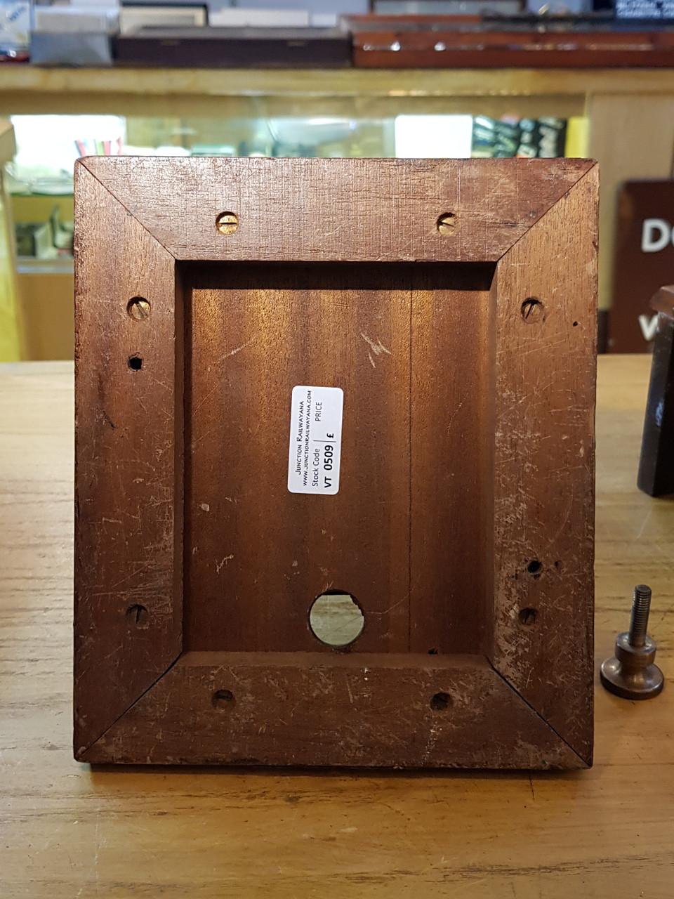 W R SYKES S.Rly SPLIT CASE SMALL BLOCK BELL. STOCK CODE VT 0509