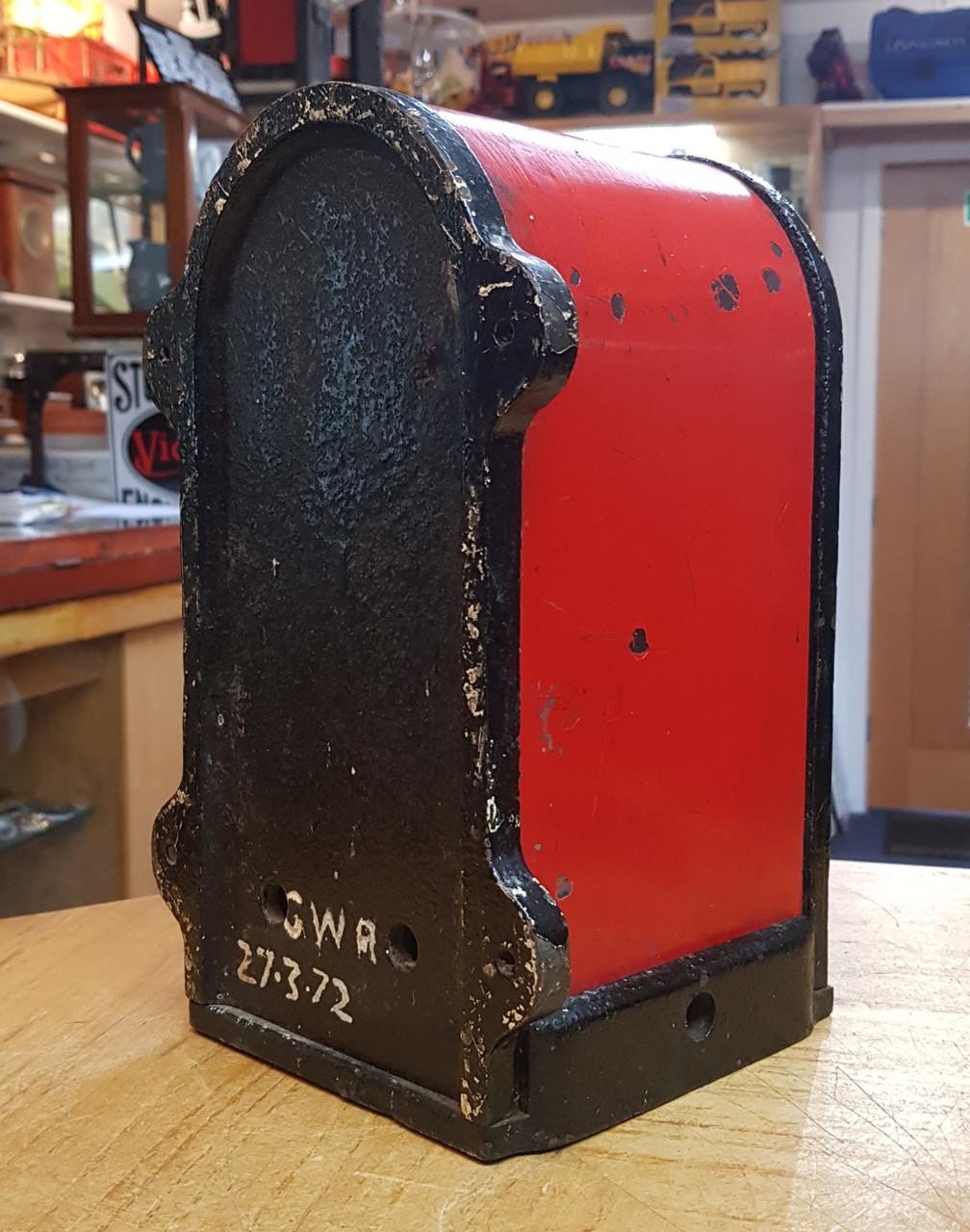 "VT 0383 - GWR CAST IRON GANGERS KEY INSTRUMENT ""B"" PATTERN"