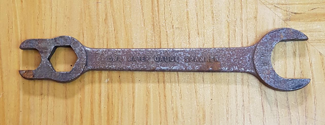 VT 2376. G.W.R. LOCOMOTIVE GAUGE FRAME SPANNER