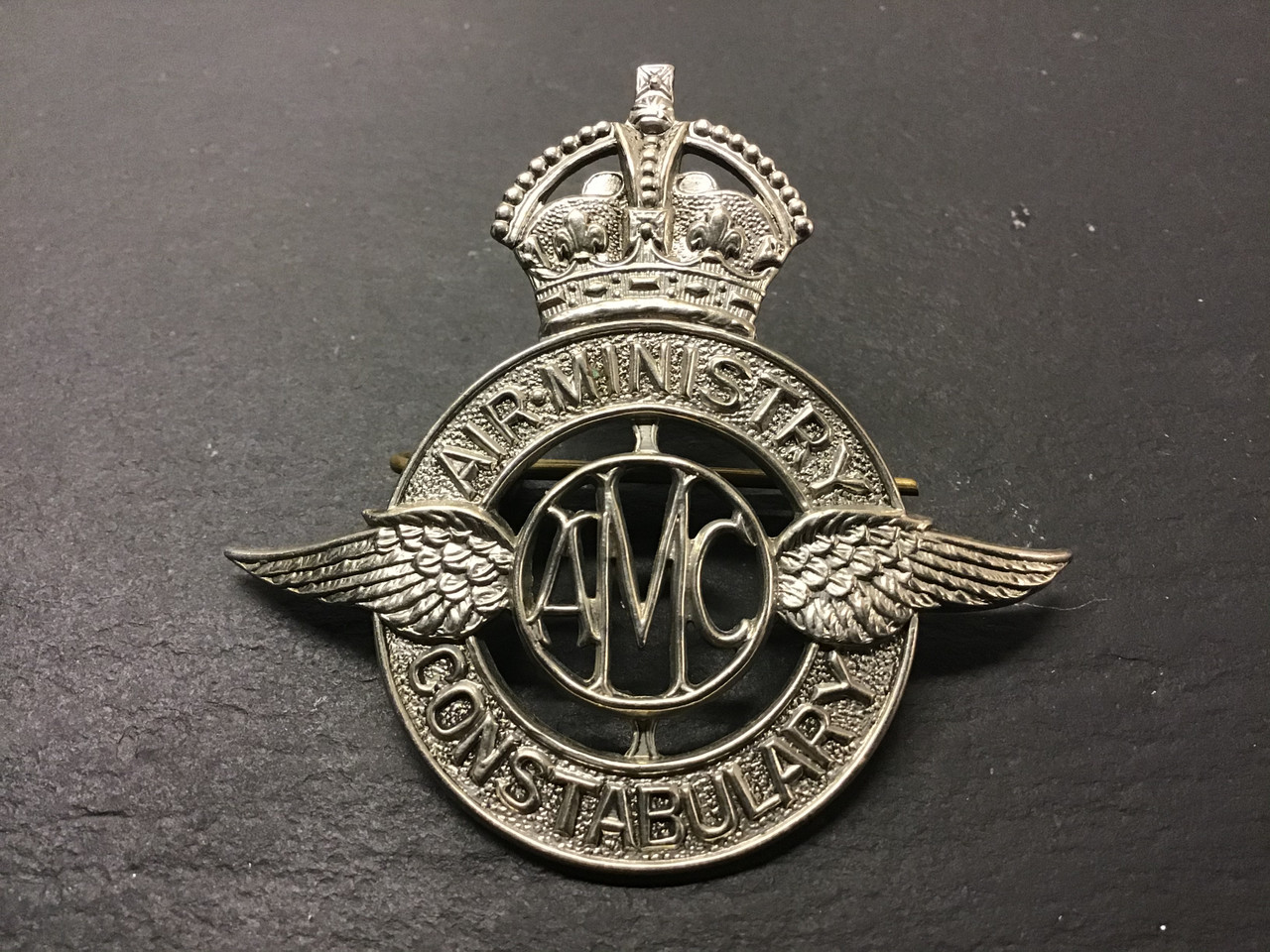 GD 904 Air Ministry Constabulary Cap Badge.