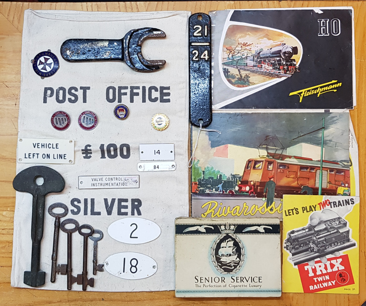 VT 2656. DEALERS ASSORTED COLLECTION BOX.