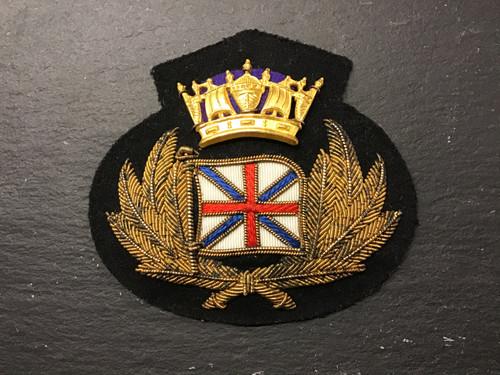 GD 922 MERCHANT NAVY OFFICER CAP BADGE PORT LINE