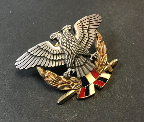 GD 150 OFFICER CAP BADGE YUGOSLAVIA AIR FORCE