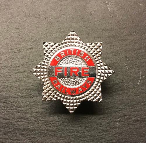 GD 376 BRITISH RAILWAYS FIRE SERVICE CAP BADGE