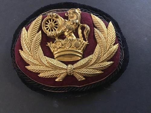 GD 743 BR LMR SENIOR STAFF HAT BADGE