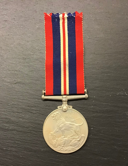 GD 947 BRITISH WAR MEDAL 1939 - 45