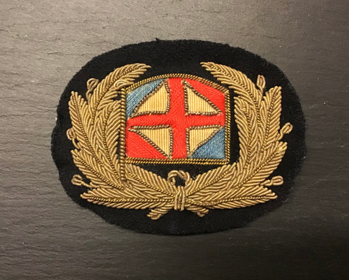 GD 806 MERCHANT NAVY OFFICER CAP BADGE SEALINK NEWHAVEN SHIPS