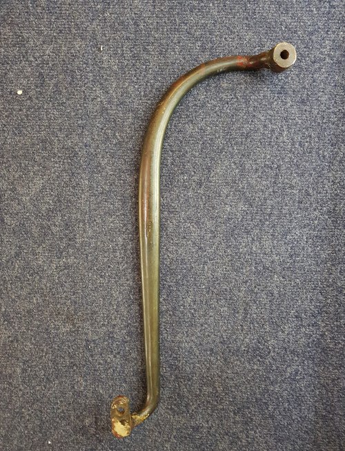 VT 2821. GREAT WESTERN RAILWAY SOLID  BRASS CARRIAGE HANDLE.