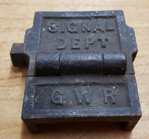 VT 1969B. G.W.R.  FACING POINT LOCK  GAUGE TOOL.