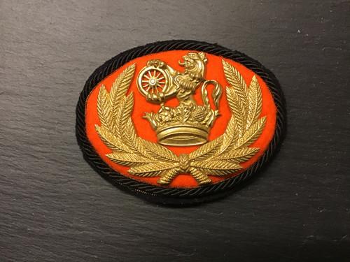 BR NER SENIOR STAFF CAP BADGE GD 989