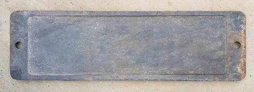 VT 3582.  CAST IRON SMOKEBOX PLATE EX G.W.R. 28XX CLASS NO 3836.