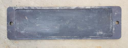 VT 3583. CAST IRON SMOKEBOX PLATE EX G.W.R 56 XX NO 5647.