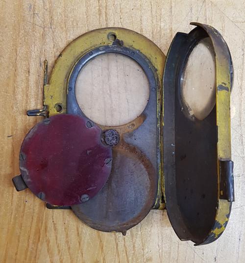 VT 3793. B.R. 0-8 SHUNTER HEAD LIGHT-TAIL LIGHT  DOOR ASSEMBLY.