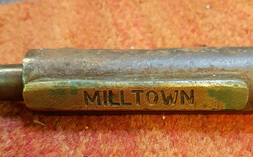 "VT1900. SINGLE LINE STAFF""MILLTOWN-CLAREMORRIS"""