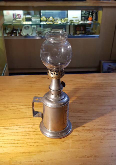 "FRENCH ""LA PARISIENNE"" SHIPS OIL LAMP. STOCK CODE PR602"
