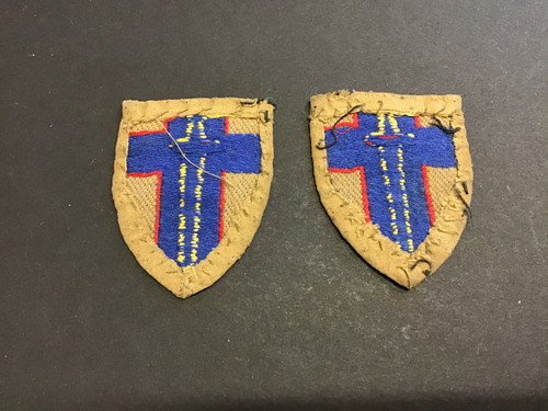 GD 485 FORMATION PATCHES BRITISH ARMY OF THE RHINE TROOPS