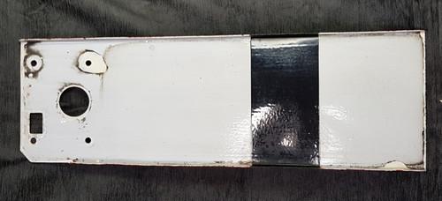 VT 2716. G.W.R. 3` ENAMEL SIGNAL BLADE.