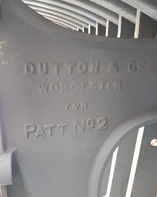 NM 2001. DUTTON 12 LEVER FRAME EX WELSHPOOL NORTH.